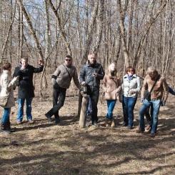 Inkilėlių kabinimo akcija, 2011-03-27