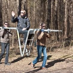 Inkilėlių kabinimo akcija, 2011-03-27, Povilas Velikis, Laurynas Vaitkus, Vytautas Švažas, Subtilu-Z