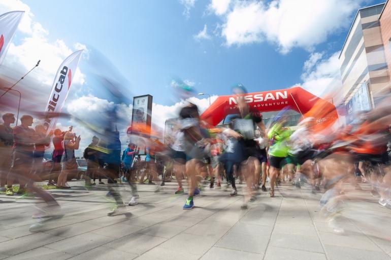 2014, Vilnius, Vilnius Challenge, miesto multi-sporto varžybos, Ozas, startas