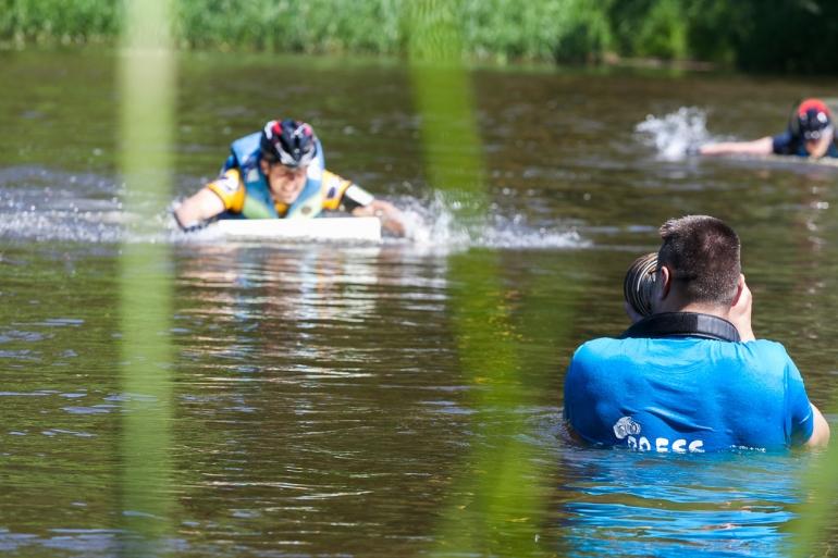 2014, Vilnius, Vilnius Challenge, miesto multi-sporto varžybos, Žirmūnai, Žirmūnų pliažas