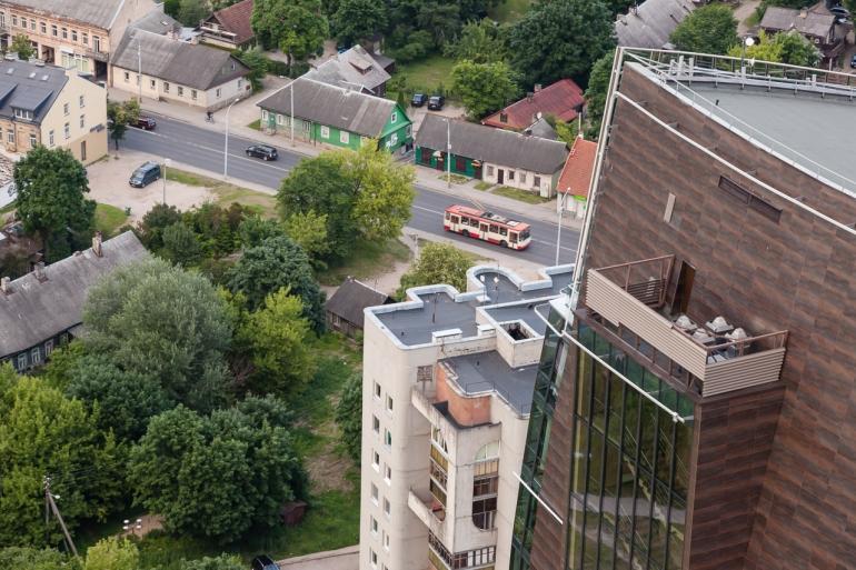 architecture, architektūra, city, cityscape, Europa, evening, high, Lietuva, Lithuania, rooftop, stogas, summer, urban, vakaras, vasara, Vilnius