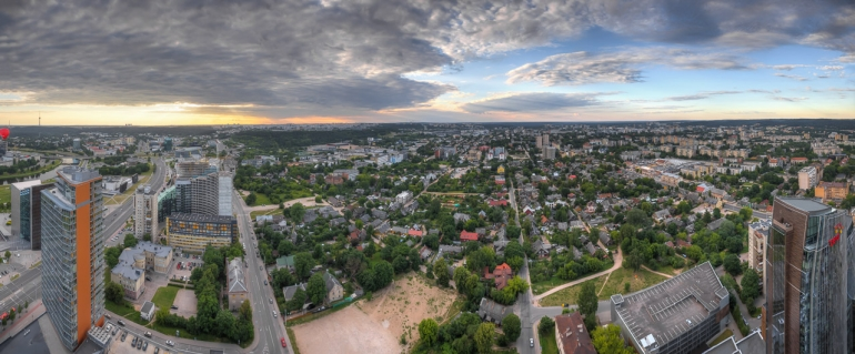 architecture, architektūra, city, cityscape, Europa, evening, HDR, high, Lietuva, Lithuania, rooftop, saulė, saulėlydis, stogas, summer, sun, sunset, urban, vakaras, vasara, Vilnius