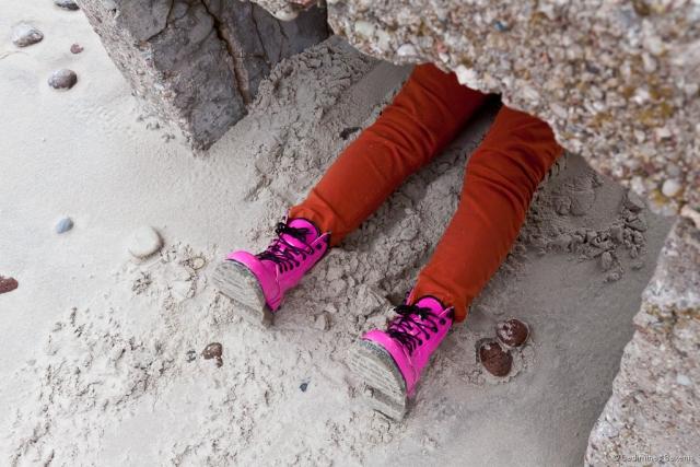 lavonėlis, batai, smėlis, paplūdimys, Baltijos jūra, rausva, ružava, meneliai, 2011