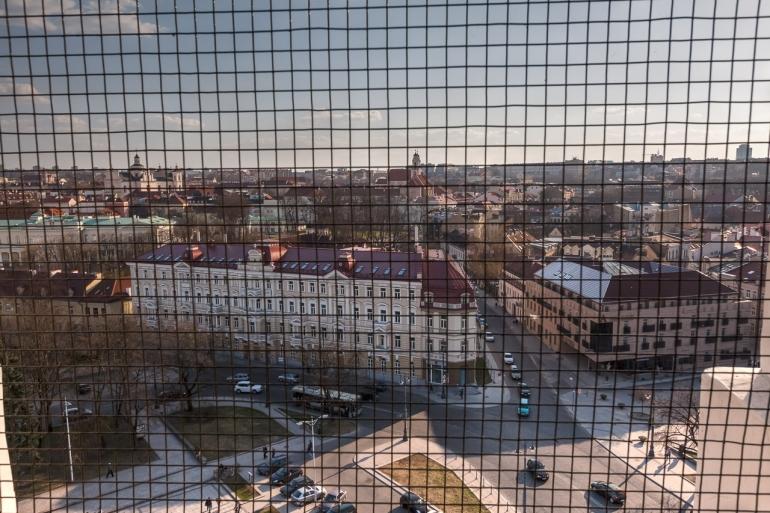2011, Vilnius, Lietuva, Lithuania, Katedra, Cathedra, Vilnius Cathedra, Katedros bokštas, bell tower