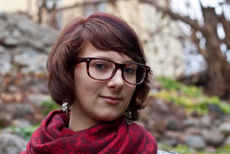 Vilnius, Lithuania, Lietuva, 2011, ruduo, autumn, mergina, portretas