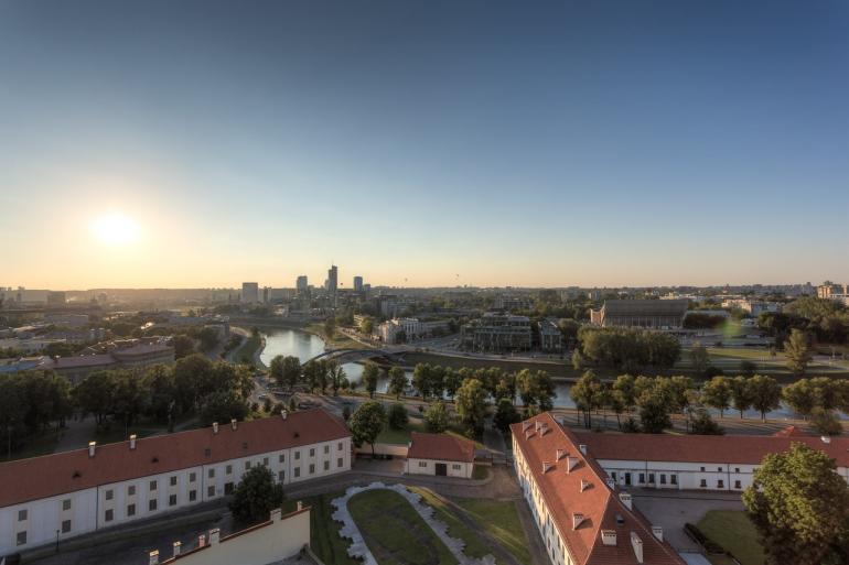 2014, city, Gediminas' castle, Gediminas' hill, Gediminas' tower, Gedimino kalnas, Gedimino pilis, HDR, Lietuva, Lithuania, miestas, Neris, river, saulė, sun, upė, Vilnius, Mindaugas bridge, Mindaugo tiltas