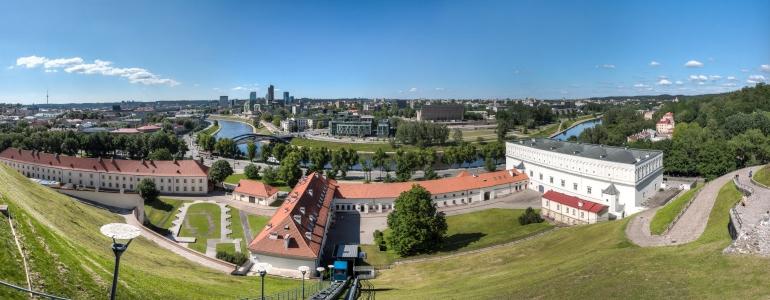 2014, Gediminas' castle, Gediminas' hill, Gediminas' tower, Gedimino kalnas, Gedimino pilis, HDR, Lietuva, Lithuania, panorama, Vilnius