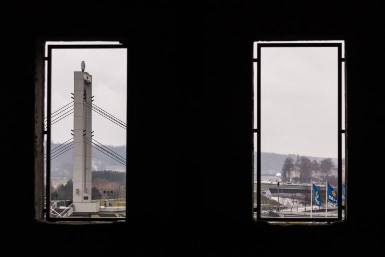 Kaunas, Lietuva, Lithuania, 2013, apleistas, apleista, abandoned, Respublika, viešbutis, hotel, žiema, winter