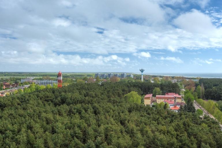 Lietuva, Lithuania, roof, rooftop, stogas, summer, Šventoji, Šventosios Švč. Mergelės Marijos Jūrų Žvaigždės bažnyčia, vasara