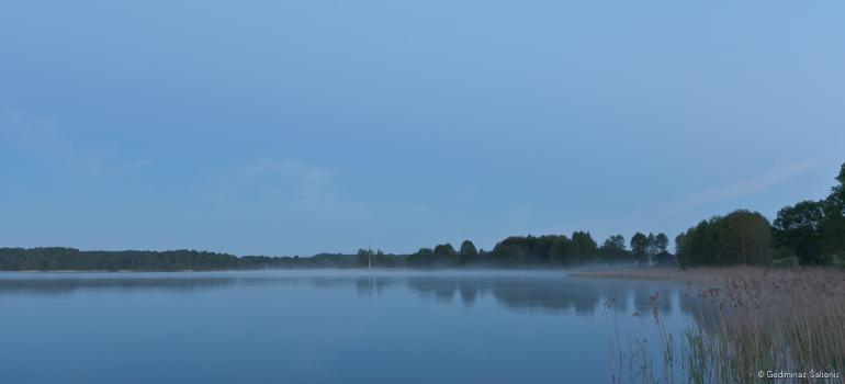 Lithuania, Lietuva, ežeras, lake, rytas, morning, 2010