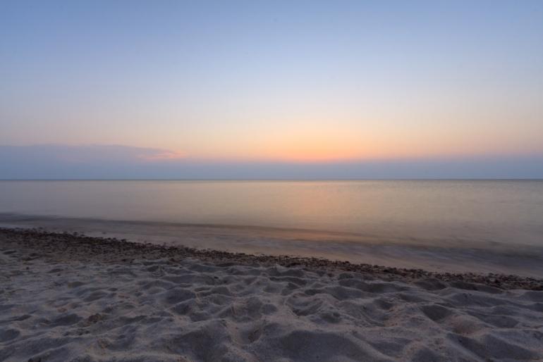 Lithuania, Lietuva, Neringa, 2011, sea, jūra, vakaras, evening, saulėlydis, sunset, saulė, sun, Baltijos jūra, Baltic sea, ilgas išlaikymas, long exposure, Neringa