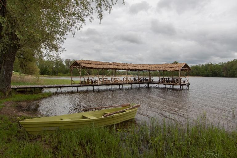 2012, Lietuva, Lithuania, Rubikiai, ežeras, lake, tiltas, bridge