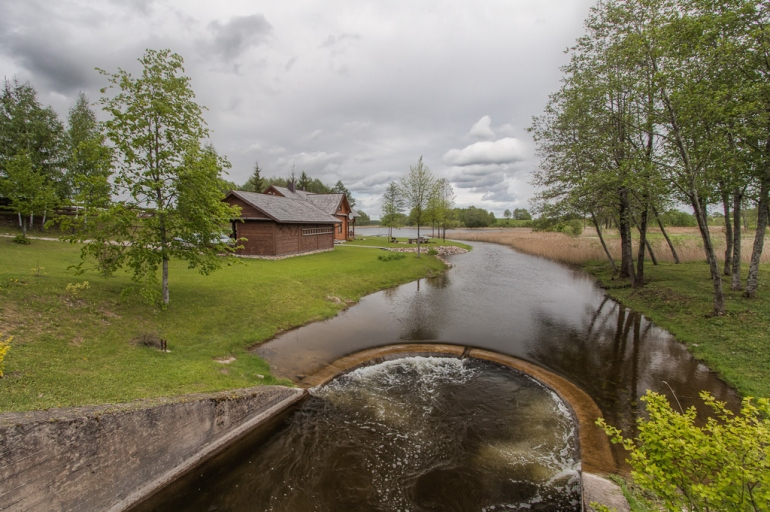 2012, Lietuva, Lithuania, Rubikiai, ežeras, lake, HDR