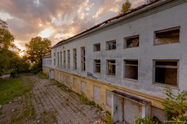 Naujoji Vilnia, Lithuania, Lietuva, apleistas, abandoned, 2011, hdr, laidojimo namai, namas, house, Kojelavičiaus 172