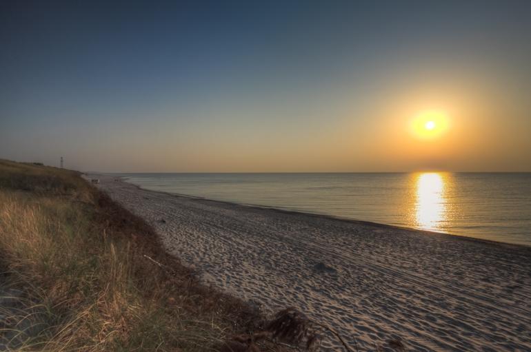 Lithuania, Lietuva, Neringa, 2011, sea, jūra, vakaras, evening, saulėlydis, sunset, Baltijos jūra, Baltic sea, Neringa