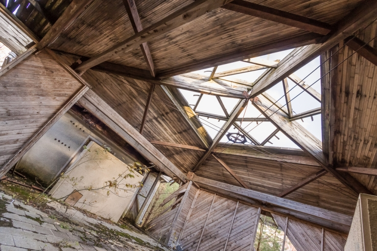 Lithuania, Lietuva, Neringa, Nida, 2012, apleistas, pastatas, abandoned, house, hdr