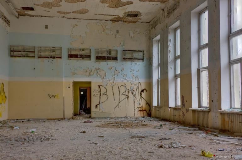 Naujoji Vilnia, Lithuania, Lietuva, apleistas, abandoned, 2009, hdr, laidojimo namai, namas, house, Kojelavičiaus 172