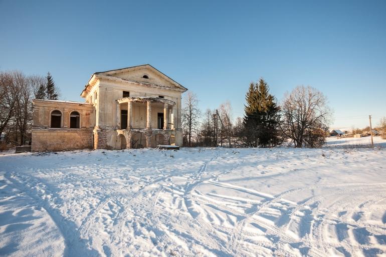 Lietuva, Lithuania, Raudondvaris, Neris, žiema, winter, Dvaras, Parčevskio dvaras, Nemenčinė, apleista, abandoned, 2014