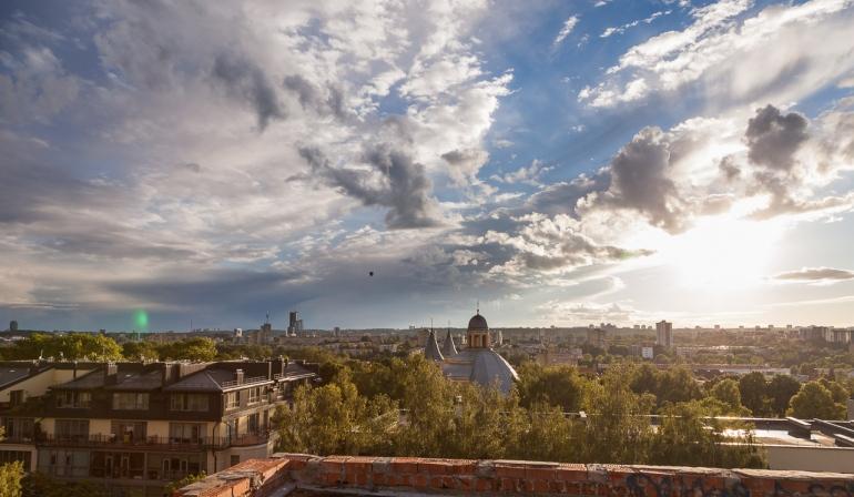 2014, Lietuva, Lithuania, Vilnius, architecture, city, cityscape, day, diena, evening, light, miestas, saulė, saulėlydis, sun, sunset, urban, vakaras, šviesa