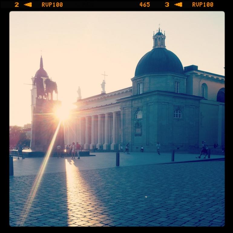 Instagram, Vilnius, Katedra, Katedros aikštė, 2013