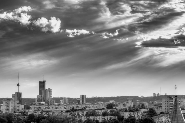 2014, HDR, Lietuva, Lithuania, Vilnius, architecture, city, cityscape, day, diena, evening, light, miestas, saulė, saulėlydis, sun, sunset, urban, vakaras, šviesa
