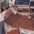 2014-balcony-balkonas-bokštas-Campanile-of-St.-John's-Church-citys-cityscape-Gatvė-Lietuva-Lithuania-miestas-roof-rooftop-saulė-stogai-stogas-Street-summer-sun-šilta-Šv.-Jonų-varpinė-tower-vasara-Vilnius-worm