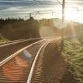 Vilnius-2013-bėgiai-tracks-traukiniai-trains-traukinys-train-saulė-sun-miškas-forest-HDR-saulėlydis-sunset-debesys-clouds-dangus-sky-Pavilnys